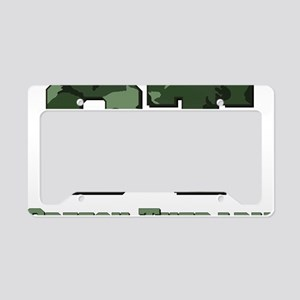 ST Camo Green License Plate Holder