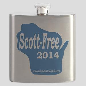 Scott-Free Wisconsin Flask