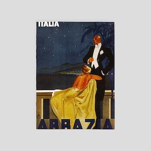 Abbazia - Venice Italy Travel 5'x7'Area Rug