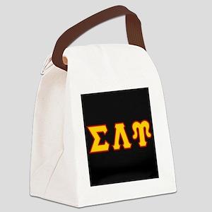 Sigma Lambda Upsilon Canvas Lunch Bag
