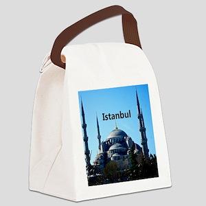 Istanbul_11x9_CalendarPrint_BlueM Canvas Lunch Bag