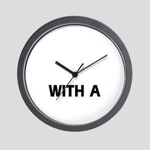 Life Is Better With A Greater Swiss Mou Wall Clock