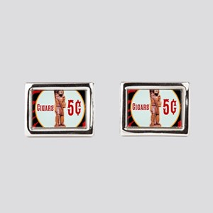 5¢ CIGARStore Indian Cufflinks