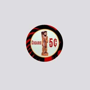 5¢ CIGARStore Indian Mini Button