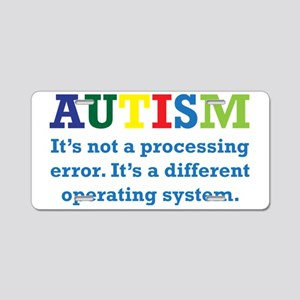 Autism awarness Aluminum License Plate