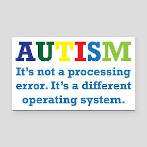 Autism awarness Rectangle Car Magnet