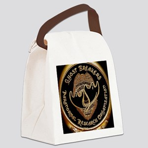 Gold patch Canvas Lunch Bag