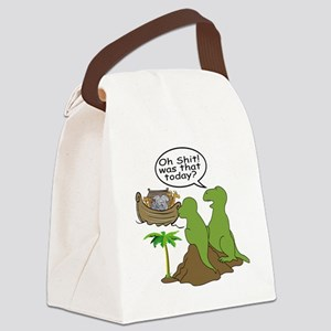 Oh Shit Canvas Lunch Bag