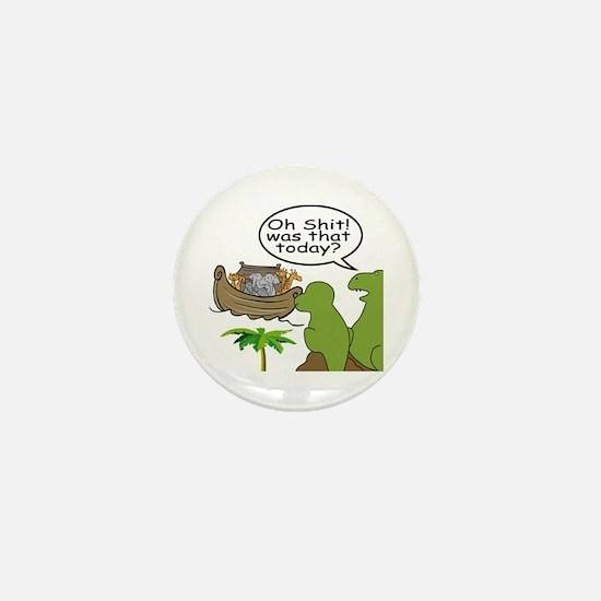Oh Shit Mini Button