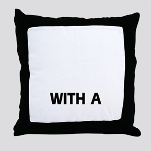 Life Is Better With A Gordon Setter Throw Pillow