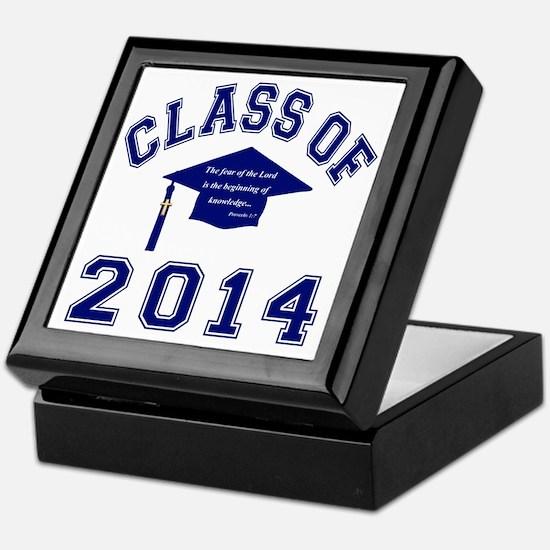 Class Of 2014 Christian Knowledge Keepsake Box