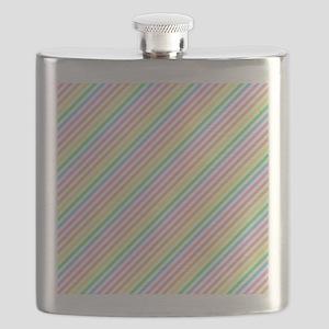 Pastel Stripes Flask