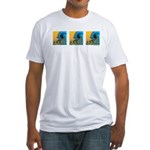 Waves Fitted T-Shirt