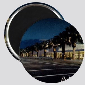 Night Scene, Palm Springs, California Magnet