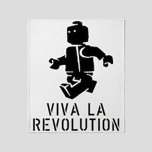 Viva la Revolution Throw Blanket