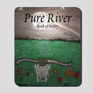 Pure River - Book of Poetry Mousepad