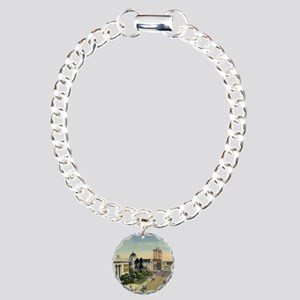 Florida Ave., Tampa, Flo Charm Bracelet, One Charm