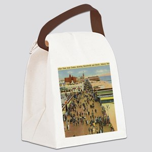 Boardwalk, Asbury Park, New Jerse Canvas Lunch Bag