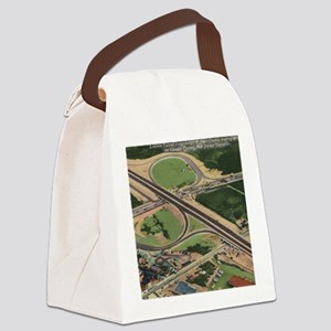 Lincoln Tunnel, New Jersey Turnpi Canvas Lunch Bag