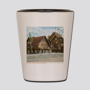 Old Faithful Inn, Yellowstone Park, Vin Shot Glass