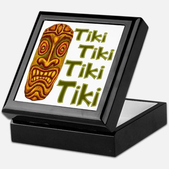 Tiki Tiki Tiki Keepsake Box