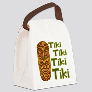 Tiki Tiki Tiki Canvas Lunch Bag