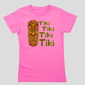 Tiki Tiki Tiki Girl's Tee