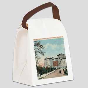 95th St., Riverside Dr., New York Canvas Lunch Bag