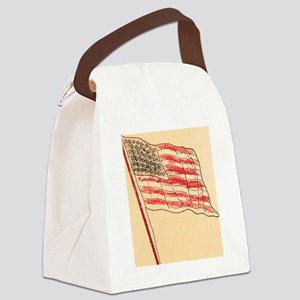 Our Flag Canvas Lunch Bag