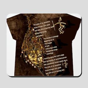 Ancestors - Womens All Over Print T-Shir Mousepad