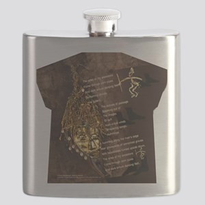 Ancestors - Womens All Over Print T-Shirt Flask