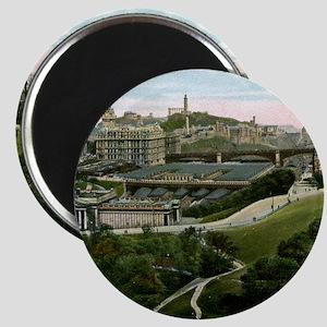 Edinburgh, Scotland, Vintage Magnet