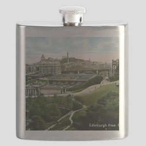 Edinburgh, Scotland, Vintage Flask