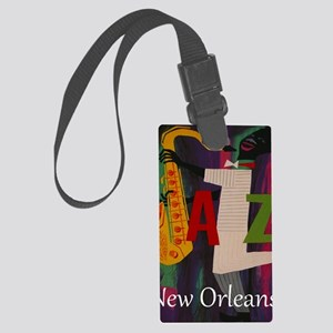 Vintage New Orleans Travel Large Luggage Tag