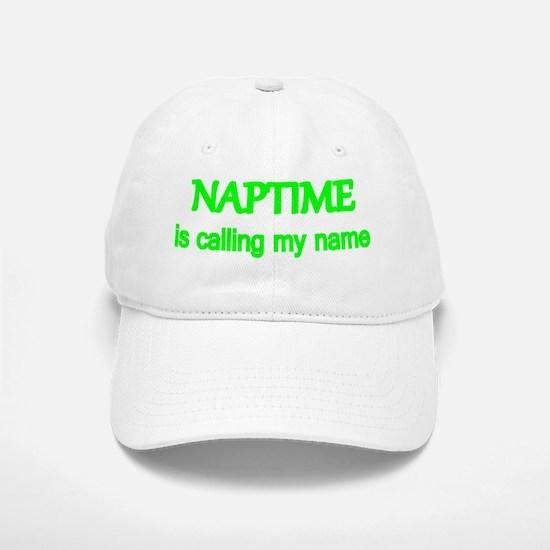 Naptime is calling my name. Baseball Baseball Cap