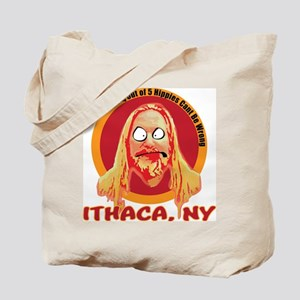 Ithaca Hippie Tote Bag