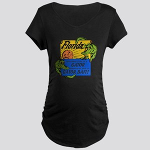 Florida Gator Bait Maternity Dark T-Shirt