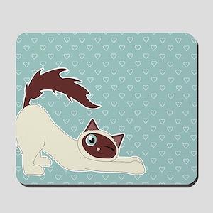 Cute Ragdoll Cat - Siamese Markings Mousepad
