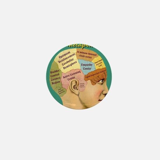 Inside a Therapists Brain Mini Button