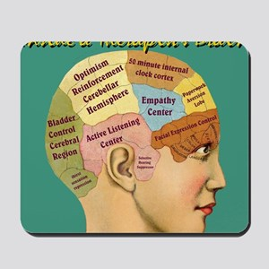 Inside a Therapists Brain Mousepad