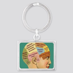 Inside a Therapists Brain Landscape Keychain