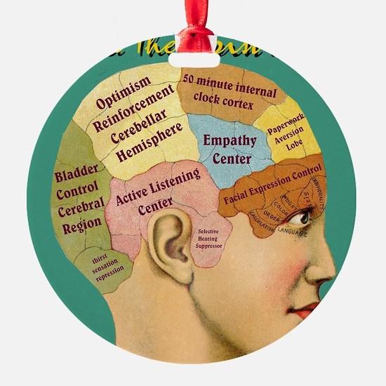 Inside a Therapists Brain Ornament