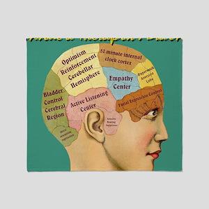 Inside a Therapists Brain Throw Blanket