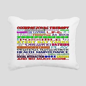 OT Words Rectangular Canvas Pillow