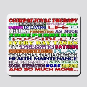 OT Words Mousepad