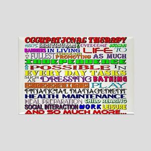 OT Words Rectangle Magnet