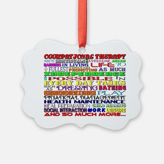 OT Words Ornament