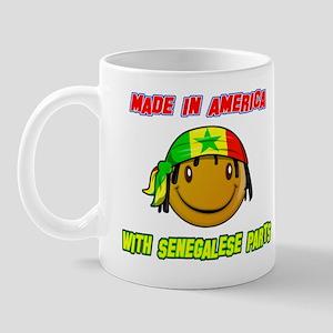 Senegalese American Mug