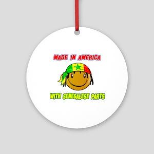 Senegalese American Ornament (Round)