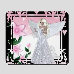Flower Angel Fantasy Artwork Mousepad